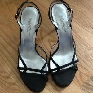 Dolce & Gabanna Strappy Black Sandals